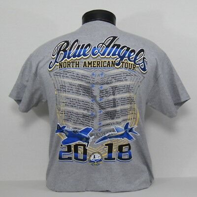 US Navy Blue Angels 2018 North American Tour T-Shirt...now available online!!!