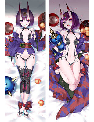 Fate Grand Order Dakimakura Shuten Douji Anime Hugging Body Pillow Case Cover