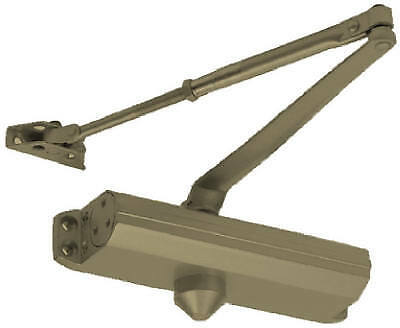 TELL MANUFACTURING INC Commercial Door Closer, Duro Finish, Size 4 DC100048