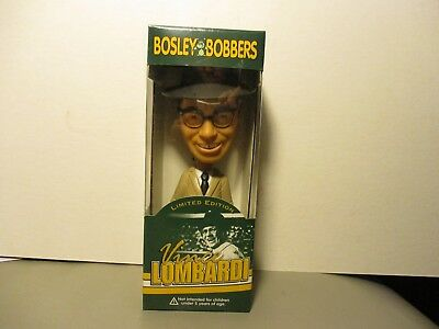 Vince Lombardi Bosley Bobbers Bobble Head - 2002- New In Box