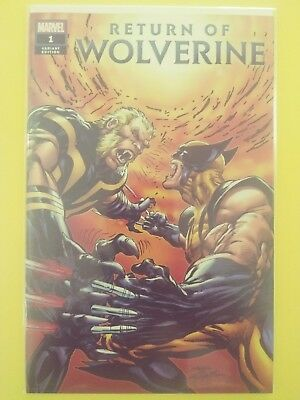 Return Of Wolverine #1 Mint 9.8 Ebay Neal Adams Variant