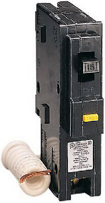 SQUARE D BY SCHNEIDER ELECTRIC Homeline 20-Amp Single-Pole Ground Fault Circuit