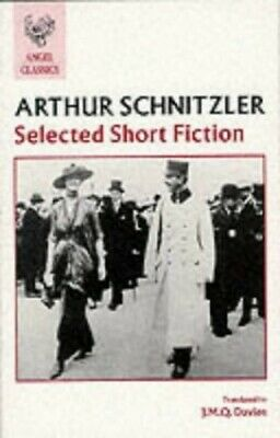 Selected Short Fiction (Angel Classics) by Schnitzler, Arthur Paperback Book The