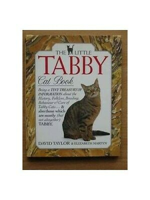 THE LITTLE TABBY CAT BOOK by Taylor, David ; Elizabeth Martyn Hardback Book The