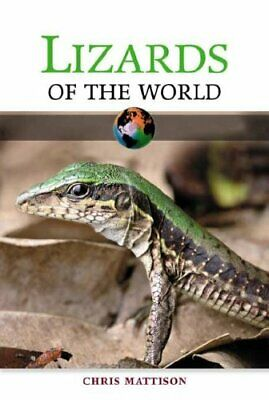 Lizards of the World by Christopher Mattison Hardback Book The Cheap Fast Free