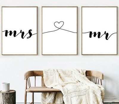 Simple Quote Wall Art Canvas Poster Minimalist Print Painting For Home Decor New