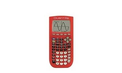 Guerrilla Silicone Case for Texas Instruments TI-84 Plus  Red.