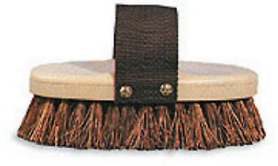 DECKER MFG COMPANY Grooming Brush, Natural Palmyra Bristle, 1-3/8-In. Trim 90
