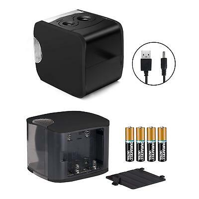Rechargeable Electric Pencil Sharpener USB Battery Operated Heavy Duty Portable