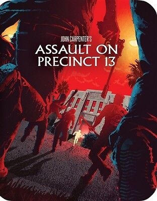 ASSAULT ON PRECINCT 13 New Blu-ray 1976 Limited Edition Steelbook Packaging