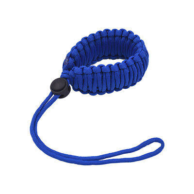 Adjustable Braided Paracord Camera Wrist Strap Lanyard for Canon Nikon Y0Z1