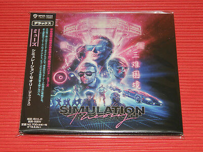 2018 JAPAN CD MUSE Simulation Theory DIGI SLEEVE DELUXE EDITION