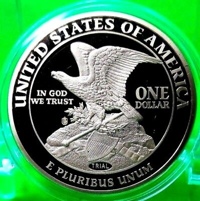 1849 Double Eagle Dollar Trial Coin Proof