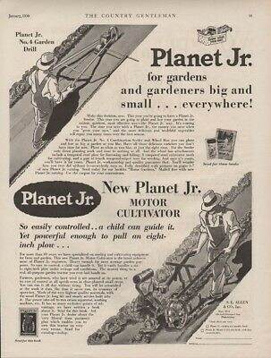 1930 Planet Jr. Garden Plow Motor Farm Hoe Seeder Motor Engine Cultivate20487