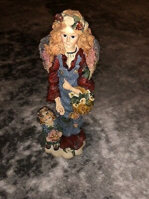 Boyds Bear & Friends Folkstone Collection Cosmo The Gardening Angel  #28201