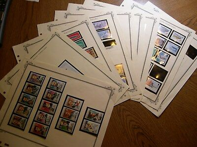 British Antarctic Territory stamp collection 1971-1994 MNH Cat Value  $225+