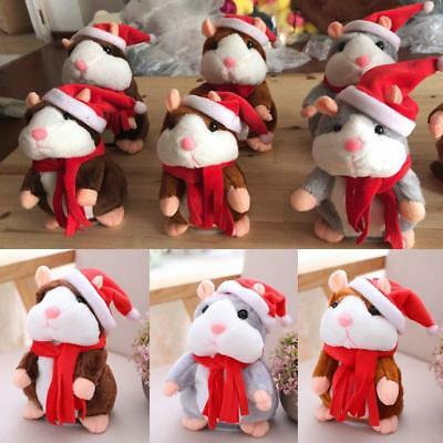 Cheeky Hamster talking mouse pet christmas toy speak sound record hamster Gift h