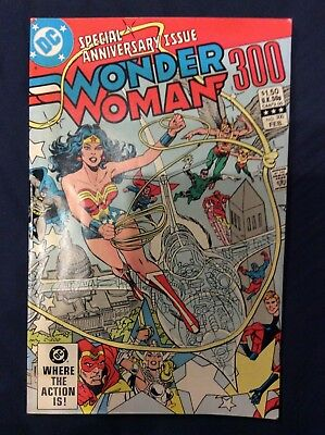 Wonder Woman #300 February 1983 Special anniversary issue