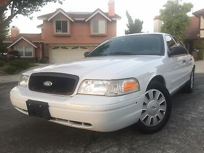 Ford Crown Victoria Police Interceptor  Ford Crown Victoria Police Interceptor K Miles
