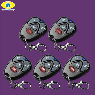 433Mhz Keychain Gsm Remote Control for G90E G90B Wifi Security Alarm Systems