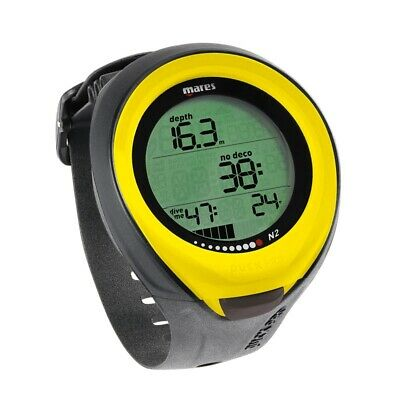 Mares Puck Pro Jaune Ordinateur Sous-Marine Couleur Wrist Dive Ordinateur Yellow