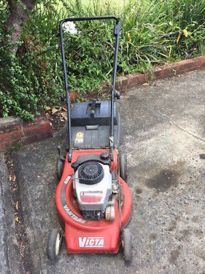 VICTA  LAWN  MOWER with Grass Catcher/Tray