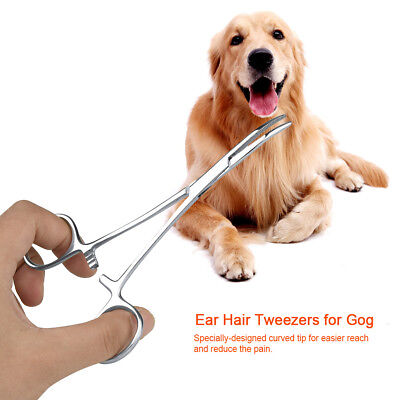 Dog Ear Hair Remover Tweezers Forceps Pet Grooming Tools Cat Ear Care Tools