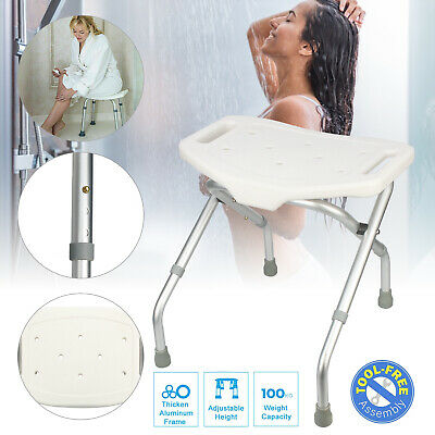 Pleasing Foldable Non Slip Bath Chair Seat Adjustable Shower Stool Pdpeps Interior Chair Design Pdpepsorg