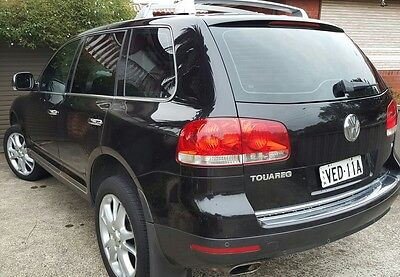Vw Touareg✔LUXURY✔BLACK✔20INCH WHEELS✔V8 PETROL🔵SUV 4X4🔵LEATHER🔵GOOD 4X4