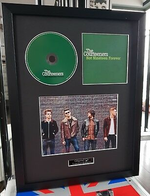 The Courteeners-Framed Original Not Nineteen Forever CD-Certificate-Liam Fray
