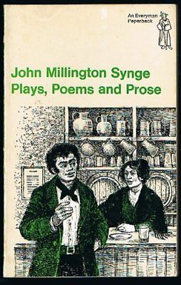 Plays, Poems and Prose (Everyman Paperbacks) by John Millington Synge Paperback