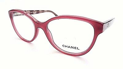 Chanel Designer Frames In Purple 3292 1485 With Case - New & Under £100 !