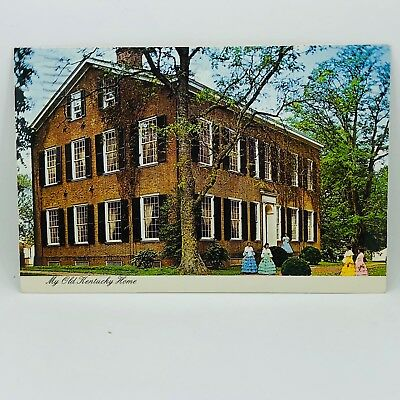 Postcard 1986 My Old Kentucky Home A State Shrine at Bardstown KY 4x6 C-36n