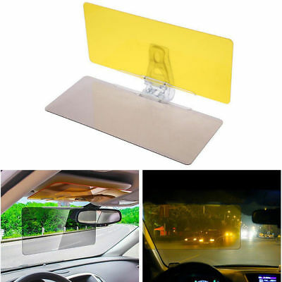 Universal Sun Visor HD UV Anti-Glare Auto Car Flip Down Shield Day/Night Vision