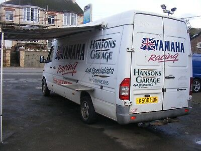 2002  Mercedes-Benz Sprinter 311  2.2 diesel  LWB HIGH ROOF  No Vat