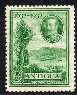 Antigua 1/2d Stamp c1932 Mounted Mint