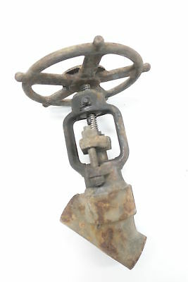 Henry Vogt BW-2522 Socket Weld Globe Valve Manual 2500 1/2in