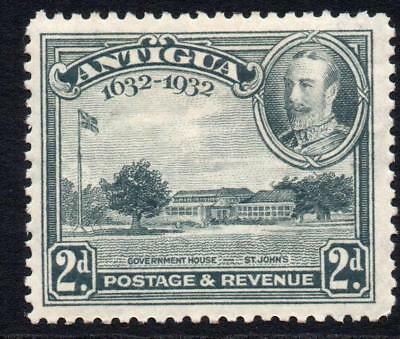 Antigua 2d Stamp c1932 Mounted Mint