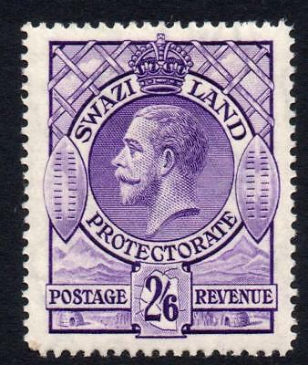 Swaziland 2/6 Stamp c1933 Mounted Mint