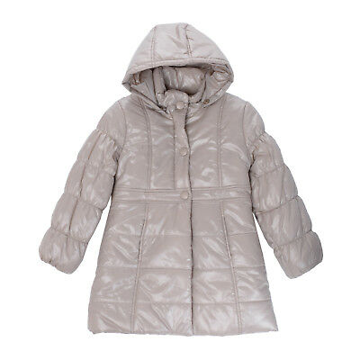 AMORE Puffer Jacket Size 6Y 116 CM Padded Detachable Hood Made in Italy
