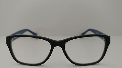 17a61d00f6cb Authentic Coach Prescription Eyeglasses HC 6068 Black/Blue 5282 54-16-135