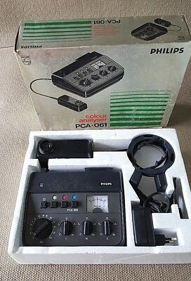 Phillips PCA-061 Color Analyzer - Pre Owned / Excellent condition