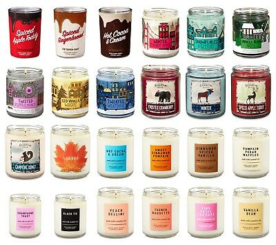 2 BATH /& BODY WORKS DREAM COZY LAVENDER COTTON SCENTED 1 WICK 7oz CANDLES NEW!