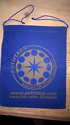 Pathtag Pathtags Geocoin Geocaching  Bag Beutel