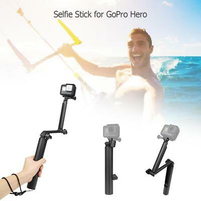 3 Way Grip Arm Foldable Tripod Monopod Selfie Stick for ABS GoPro Hero 7 6 5 4