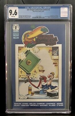 San Diego Comic Con #2  First Appearance Hellboy SDCC 2 Next Men 21 CGC 9.6