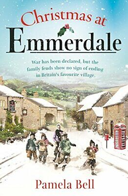 Christmas at Emmerdale by Bell, Pamela Book The Cheap Fast Free Post