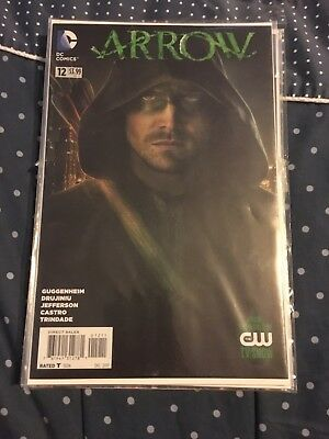 Dc Comic Arrow Comic Issues 1,5,7,9,10,12