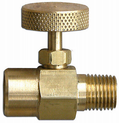 FLAME ENGINEERING INC 1/4-Inch Standard Pipe Thread Needle Valve V-334
