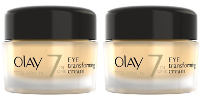 Olay Total Effects 7-in-1 Transforming Eye Cream 0.5 oz, Unboxed (2 Pack)